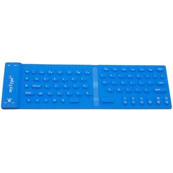 Bezdrátová klávesnice myType modrá
