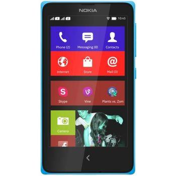Nokia X Dual Sim modrá
