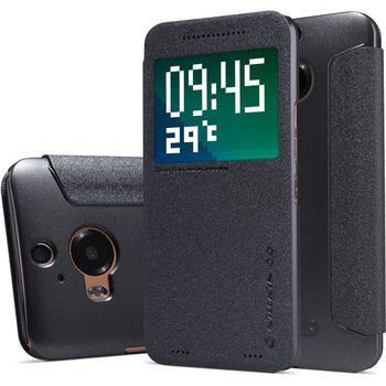 Nillkin flipové pouzdro Sparkle S-View pro HTC ONE A9, černé