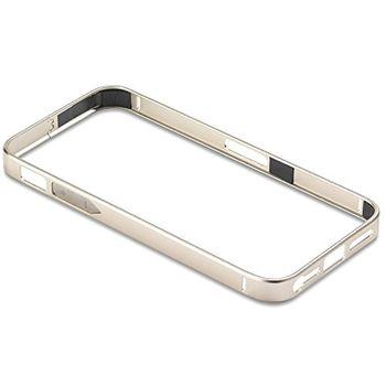 PanzerGlass ochranný hliníkový rámeček pro Apple iPhone 5/5s, zlato stříbrná